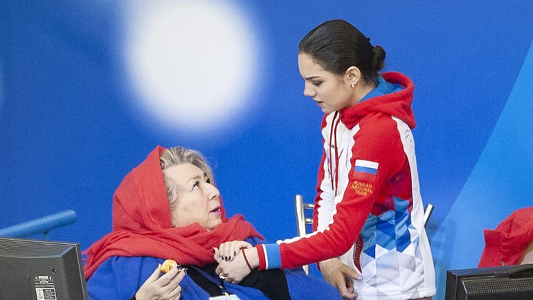 Татьяна Тарасова иЕвгения Медведева. Фото Ксения Нуртдинова