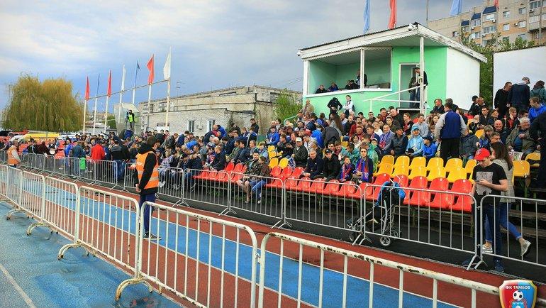 Стадион «Спартак» вТамбове. Фото ФК «Тамбов»