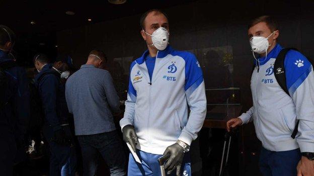 «Динамо» вТбилиси: жара икоронавирус