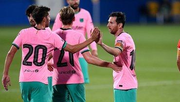 «Барселона» победила «Жирону», Месси сделал дубль
