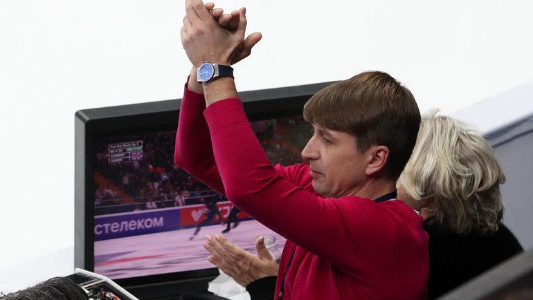 Алексей Ягудин. Фото Дарья Исаева, «СЭ» / Canon EOS-1D X Mark II