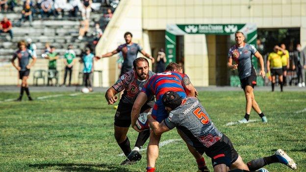 Николоз Сухашвили в игре. Фото Ярослав Колыванов