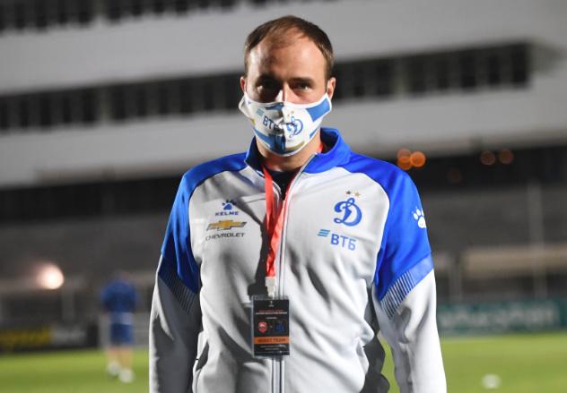 Кирилл Новиков. Фото ФК «Динамо»