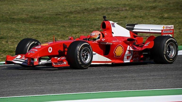 Феррари 2004 года. Фото Autosport