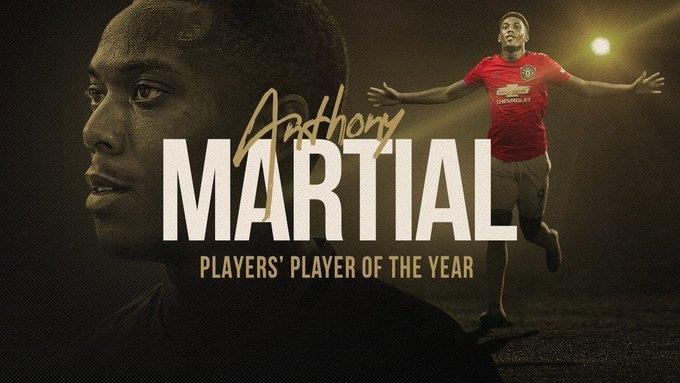 """Антони Марсьяль. Фото """"Манчестер Юнайтед"""""""