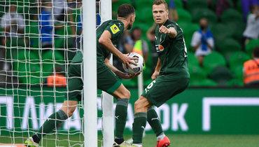 «Краснодар»— «Химки»: все голы матча
