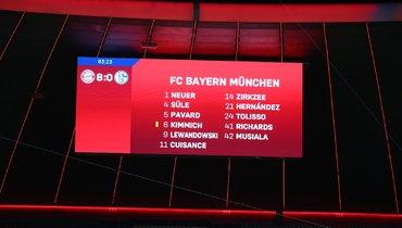 «Бавария» разгромила «Шальке». Фото ФК «Бавария».