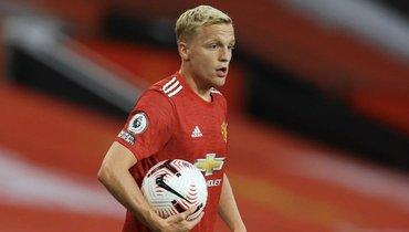 Донни ван деБек: «Счастлив, что дебютировал за «Манчестер Юнайтед», норазочарован результатом»