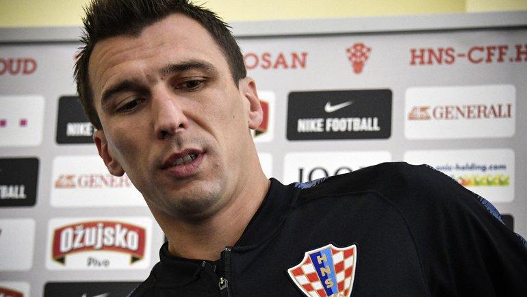 Марио Манджукич. Фото Reuters