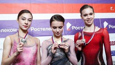 20сентября. Сызрань. Анна Фролова, Анна Щербакова, Майя Хромых (слева направо).