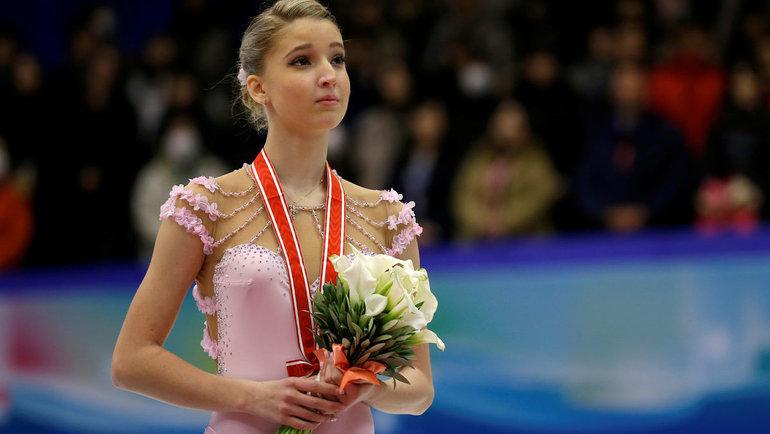 Мария Сотскова. Фото Reuters