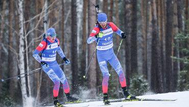 Российские биатлонисты остались без турниров.