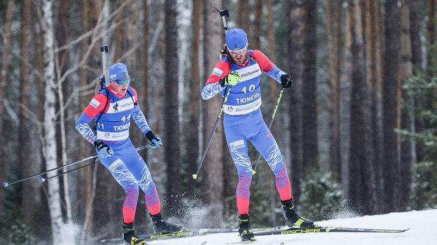 Российские биатлонисты остались без турниров. Фото СБР