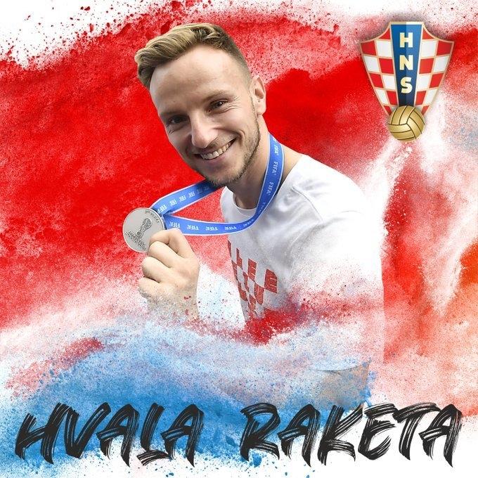 Иван Ракитич. Фото Хорватский футбольный союз