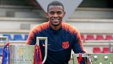 Семеду объявил обуходе из «Барселоны»