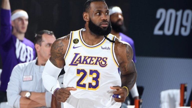 Леброн Джеймс. Фото NBA