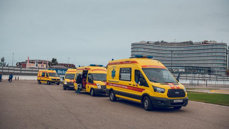 В2020 году разработана новая схема медицинского обеспечения на «Гран-при России». Фото АНО «Росгонки»