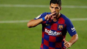 Marca: Бартомеу дал согласие напереход Суареса в «Атлетико»