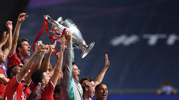«Бавария»— победитель Лиги чемпионов 2019/2020. Фото AFP