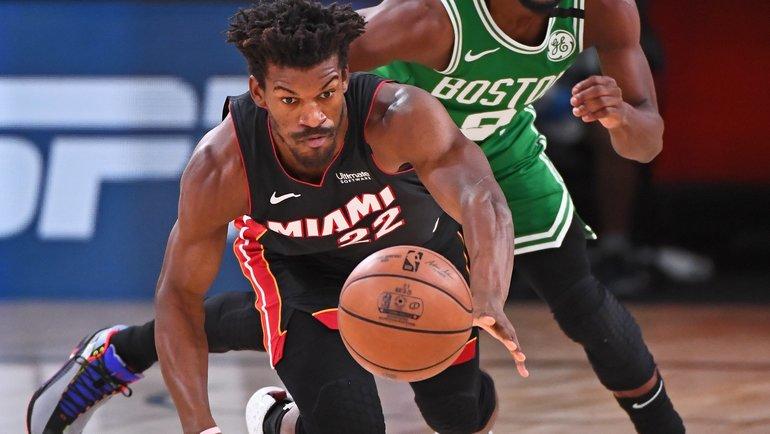 24сентября. «Майами»— «Бостон»— 112:109. Фото NBA