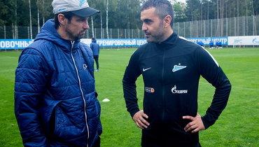 Тренерский штаб «Зенита» усилил испанец, работавший в «Локомотиве»