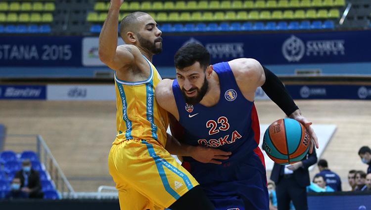 Торнике Шенгелия (справа). Фото ПБК ЦСКА