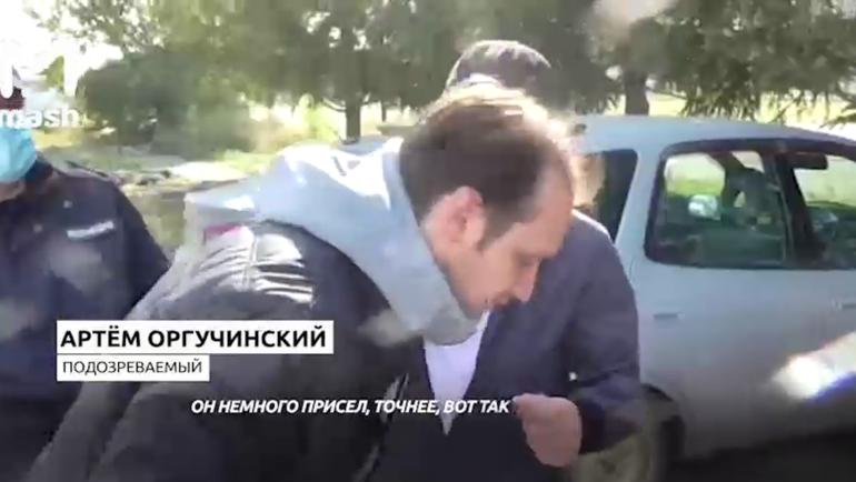 Подозреваемый в убийстве омского хоккеиста. Фото Mash