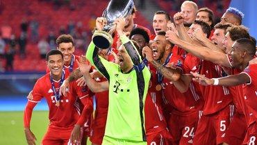 «Был несказанно рад, когда вышел наполе Хави Мартинес». Нойер— опобеде вСуперкубке УЕФА