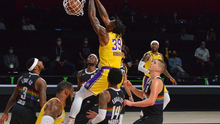 25сентября. «Денвер»— «Лейкерс»— 108:114. Фото NBA