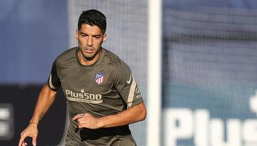 Суарес провел первую тренировку в «Атлетико»