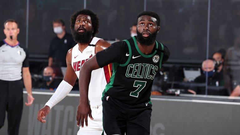 26сентября. «Бостон»— «Майами»— 121:108. Фото NBA