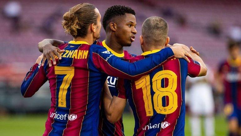 «Барселона» проведет свой первый матч вновом сезоне в3-м туре лалиги. Фото twitter.com/FCBarcelona
