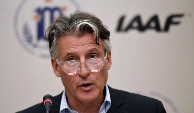 Глава World Athletics Себастьян Коу. Фото AFP