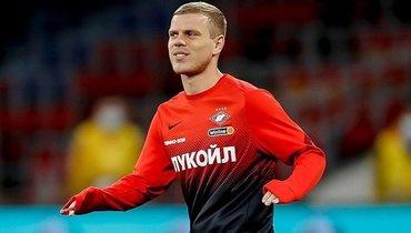 «Тамбов»— «Спартак»: Кокорин впервые встарте красно-белых наматч чемпионата