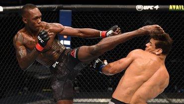Исраэль Адесанья нокаутировал Пауло Косту натурнире UFC.