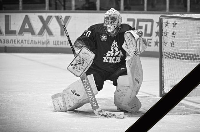 Вадим Орехов. Фото ХК «Динамо-Алтай».