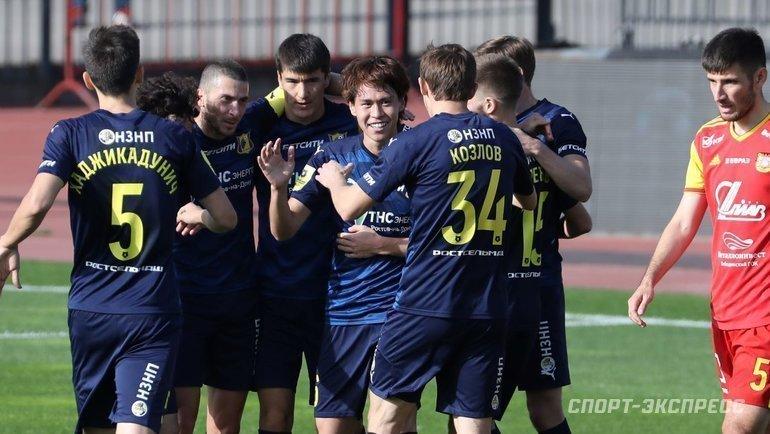 «Ростов» разозлился после «Маккаби». Ипобедил «Арсенал»