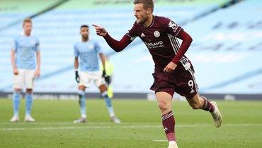 Хет-трик Варди помог «Лестеру» разгромить «Манчестер Сити»