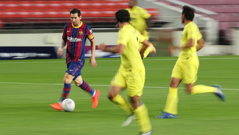 Лионель Месси (смячом). Фото Reuters