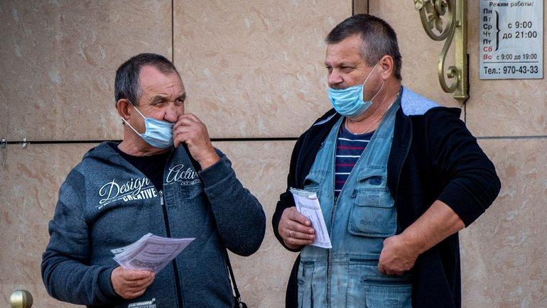 Встолице более 85 тысяч пассажиров получили штрафы заотсутствие средств защиты. Фото AFP