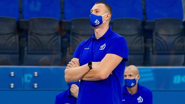 Главный тренер «Динамо» Константин Брянский. Фото vk.com/vcdynamomoscow