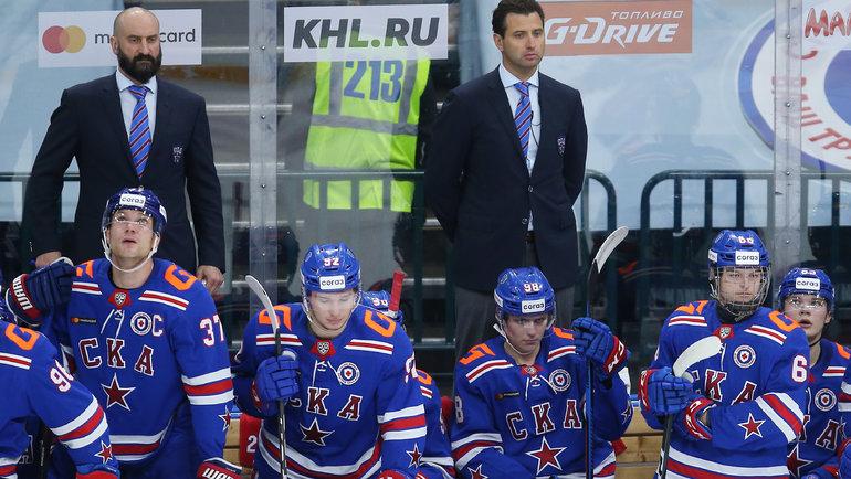 Игроки СКА. Фото photo.khl.ru