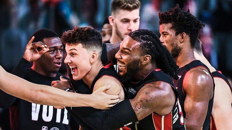 «Майами» вышел вфинал НБА, где сыграет с «Лейкерс». Фото instagram.com/miamiheat