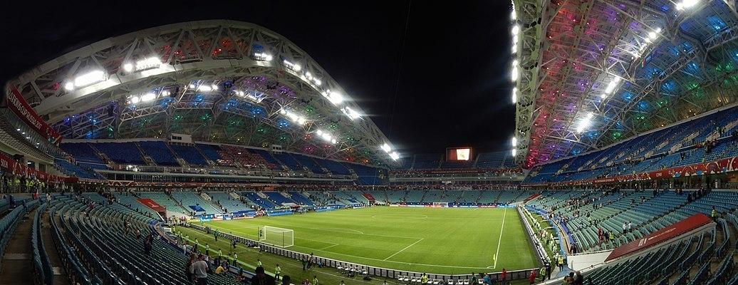 """Стадион """"Фишт"""" в Сочи. Фото Википедия."""