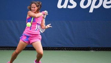 Касаткина уверенно обыграла Тан впервом раунде Roland Garros