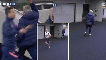 Дайер убежал враздевалку споля вовремя матча с «Челси». Моуринью бросился заним