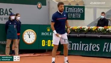 Громкий взрыв вПариже попал втрансляцию Roland Garros. Что это было?