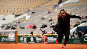 Серена Уильямс снялась сRoland Garros