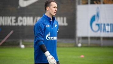 Лунев тренировался с «Зенитом» перед матчем со «Спартаком»