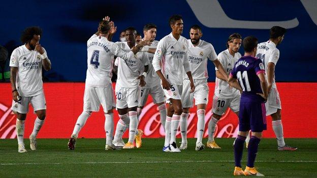 30сентября. Мадрид. «Реал»— «Вальядолид»— 1:0. Фото AFP